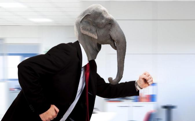 Qué tipo de animal eres en la oficina, ¿serpiente o elefante?